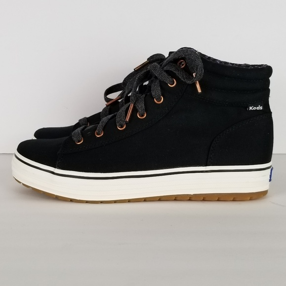 Black Canvas Sneakers Womens